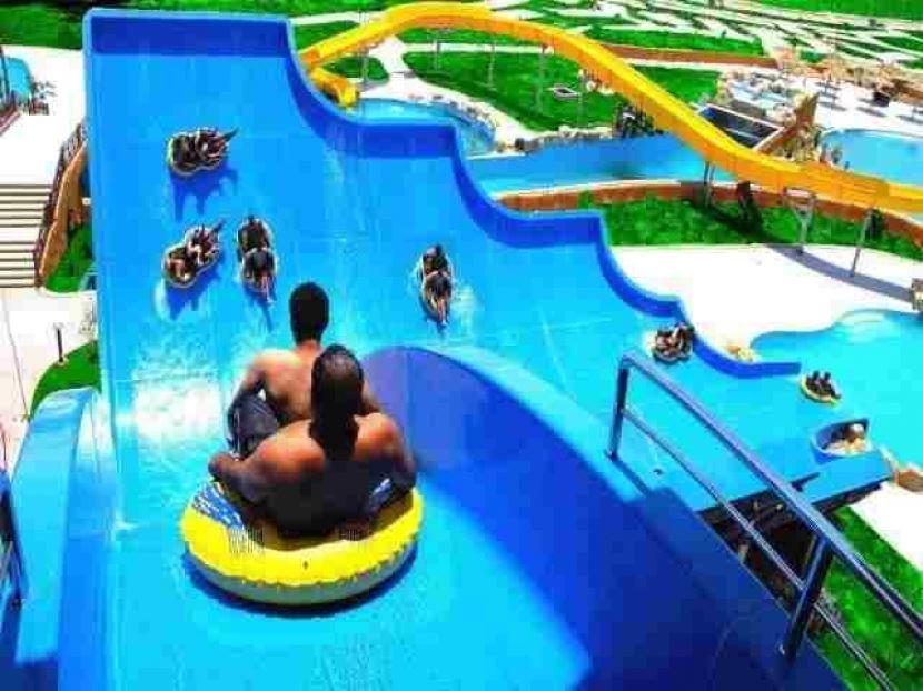 Ausflug zum  Wasser Aqua Park in Hurghada