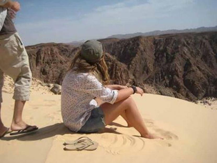 Jeep Safari zu Coloured Canyon ab Sharm el Sheikh Hafen.