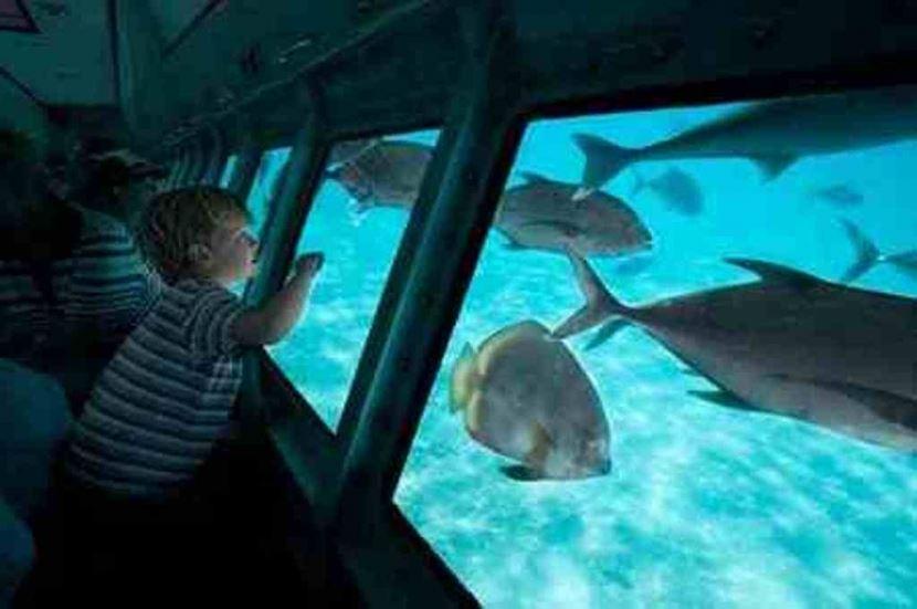 Halbtauchendes U-Boot ab Sharm El Sheikh